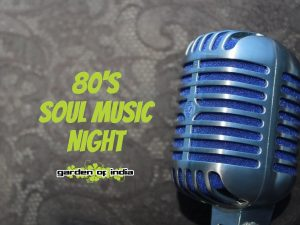 80's Soul Singer at Garden Of India, Harlow
